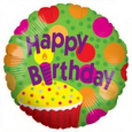 "Happy Birthday ! 18"" Mylar Balloons EB -82"