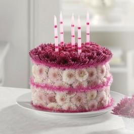 Blooming Birthday Cake  EB-30
