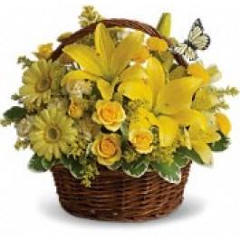 Basket of blooms EB-329