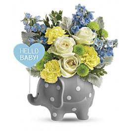 Hello Sweet Baby - Blue EB-75