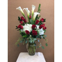 Lilies and roses EB-257