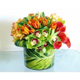 Orange Splash Bouquet EB-439
