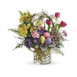 Pop of Springtime Bouquet EB-4