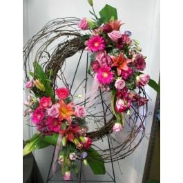Garden Wreath  EB -352