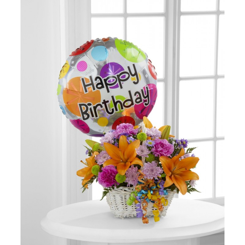 Happy Birthday Basket   EB-31