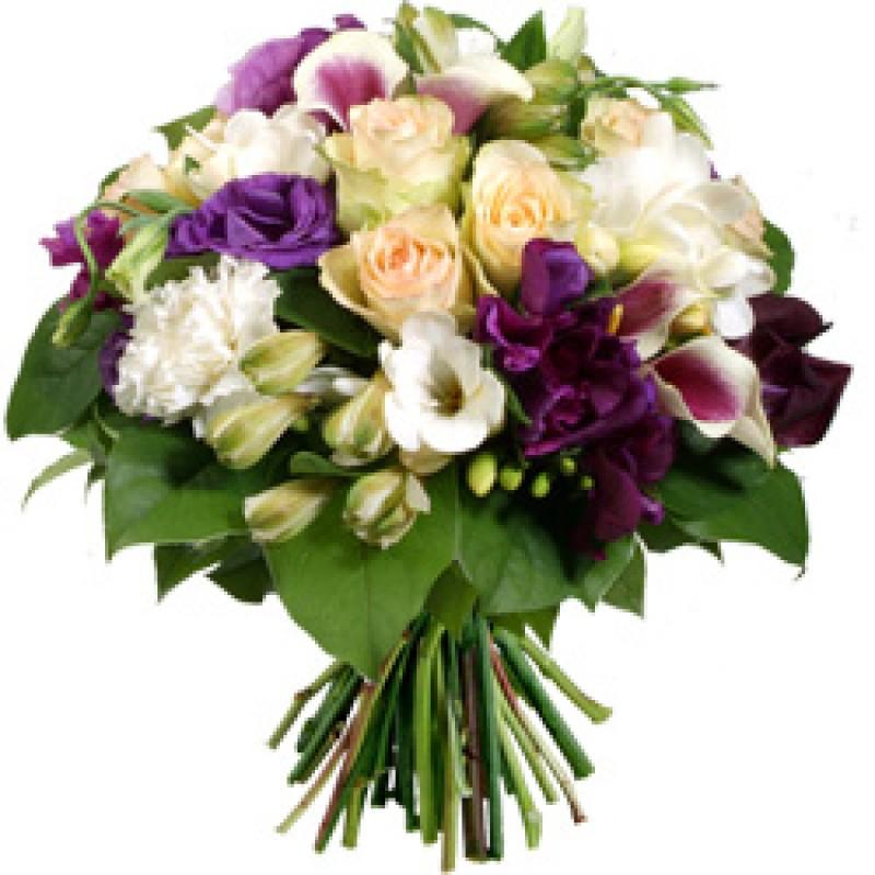 Dazzle In Purple Bouquet  EB-412