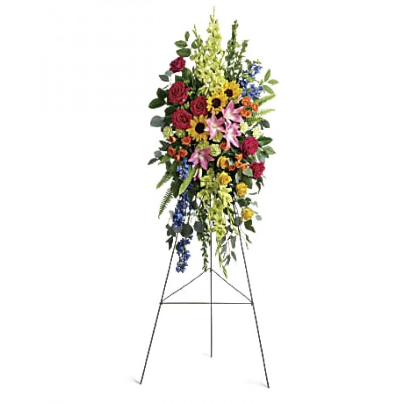 Life Tribute STANDING EASEL SPRAY  EB -351