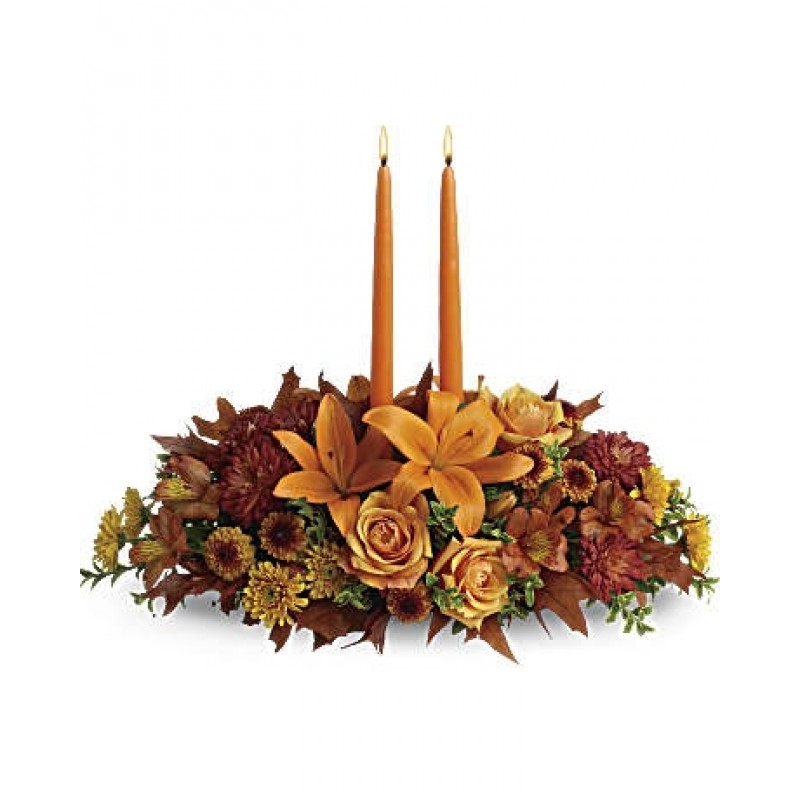 Fall table low centerpiece EB-134
