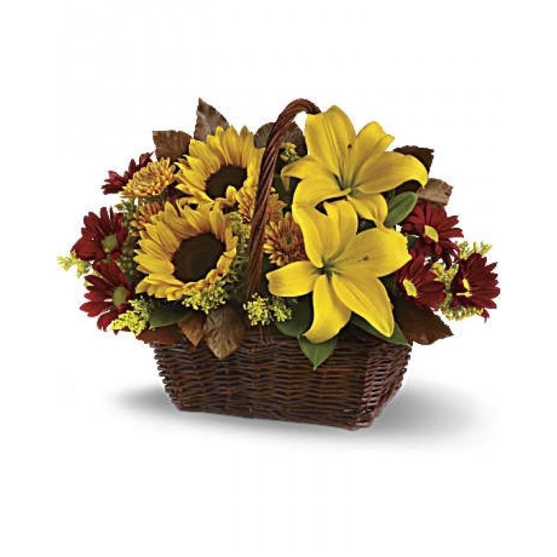 Golden Beauty Basket EB-167