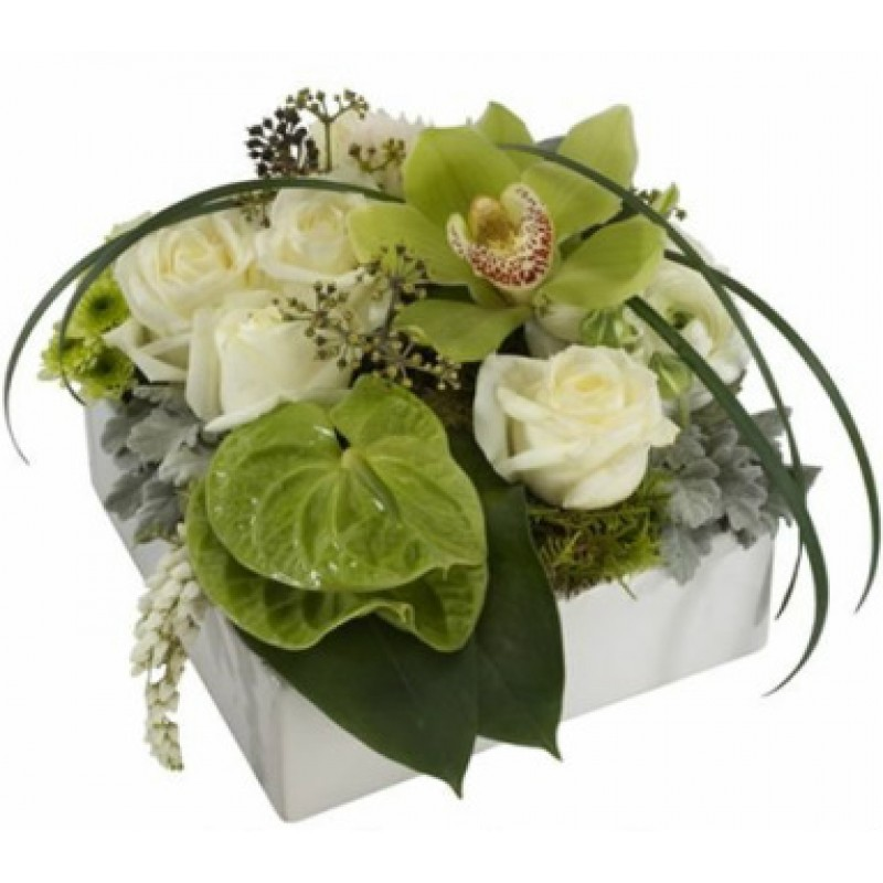 Green Envious Bouquet EB-421
