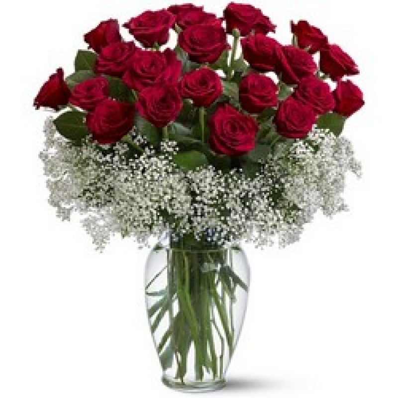 I adore you bouquet 2Dz premium long stem roses EB-589