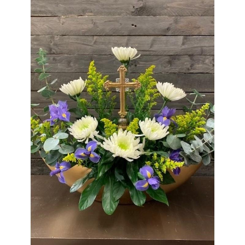 Divine Cross Bouquet EB-538