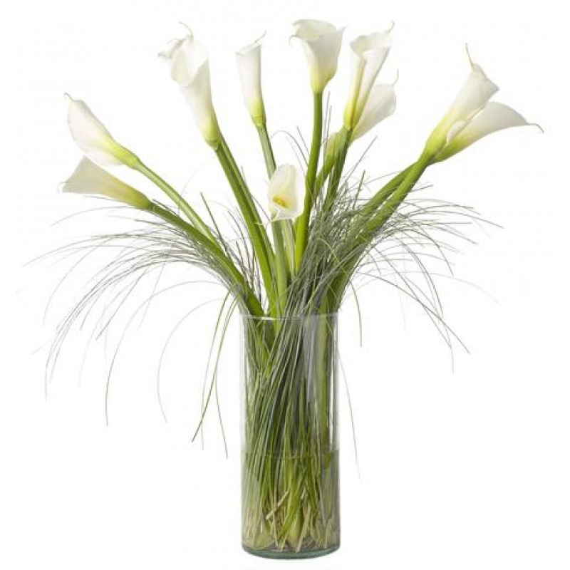 white calla lily bouquet EB-325