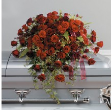 Loving Roses Casket Spray    EB-26