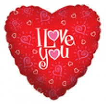 "I Love You  18"" Mylar Balloons EB -85"