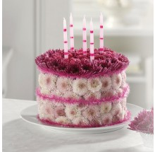 Blooming Birthday Cake  EB-30
