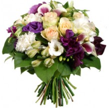 Dazzle In Purple Bouquet  EB-412