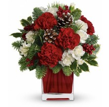 Holiday red arrangement EB-202