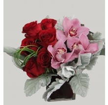 Fifty shades of gray bouquet EB-494