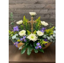 Divine Cross Bouquet EB-538