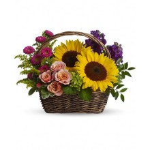 Sun flower basket EB-553