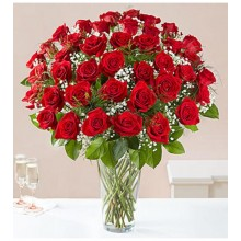 4 Dz red roses EB-237