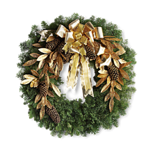 Gold wreath EB-197