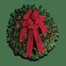 Holiday wreath EB-206