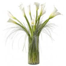 white calla lily bouquet EB-325